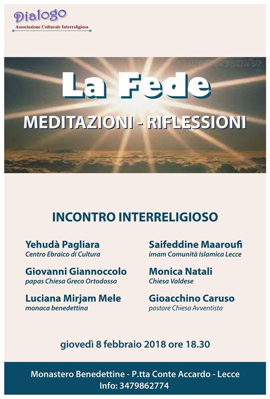 la fede - meditazioni e riflessioni