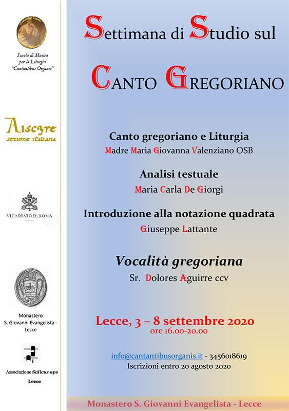 Corso Canto Gregoriano